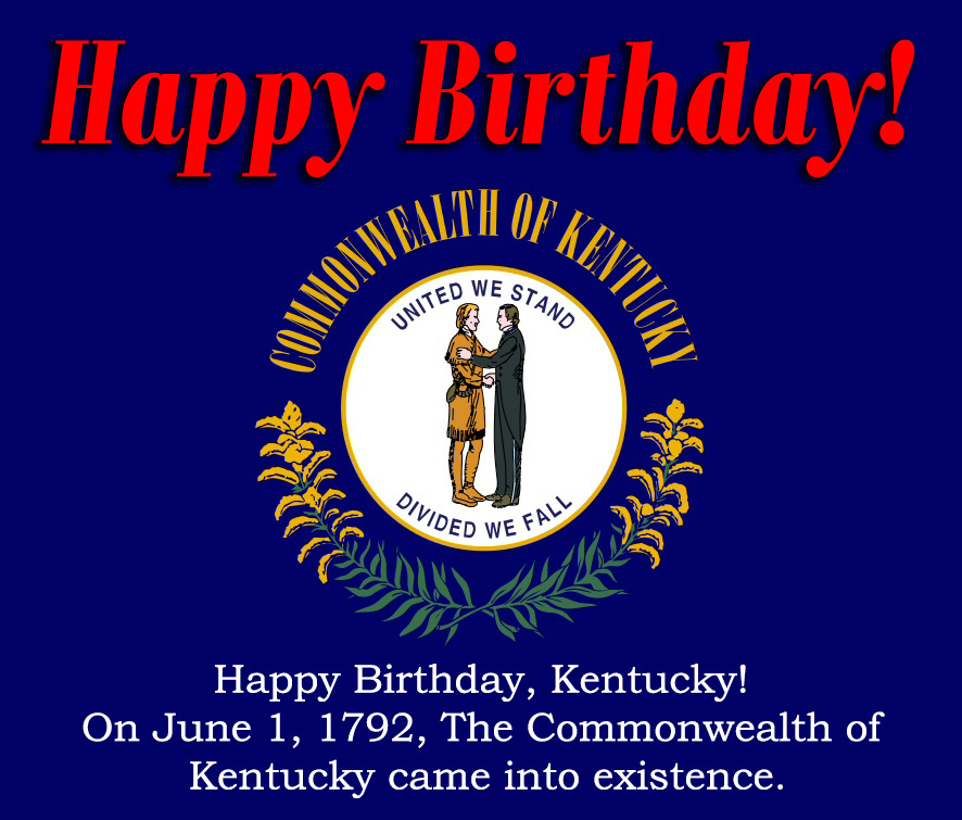 Happy Birthday Kentucky
