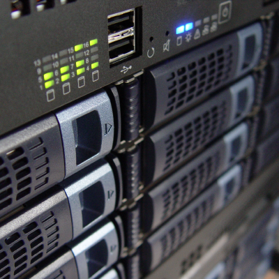 Your business's IT Infrastructure will include a data center and network storage.